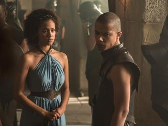 Game of Thrones Season 5 - Missandei and Grey Worm