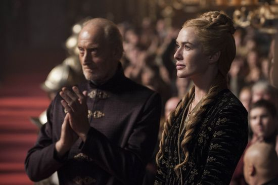 Game of Thrones Tywin and Cersei Lannister