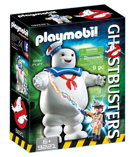 Ghostbusters playmobil staypuft