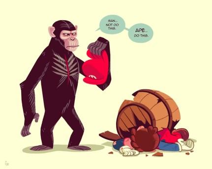 Glen Brogan - Apes Mario