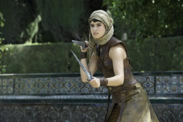 "Rosabell Laurenti Sellers as Tyene Sand in ""Game of Thrones"""