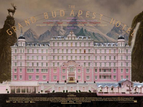 Grand Budapest Hotel UK Quad