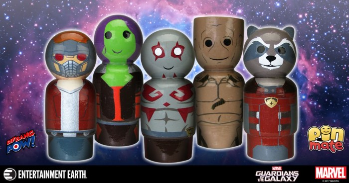Guardians of the Galaxy Pin Mates
