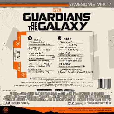 Guardians of the Galaxy vinyl 2
