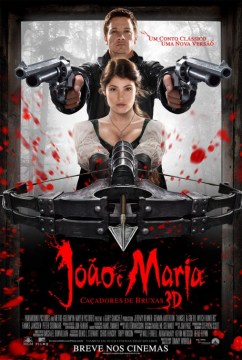 Hansel and Gretel Witch Hunters Brazilian poster