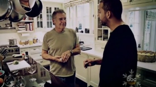 Harrison Ford on David Blaine Real or Magic