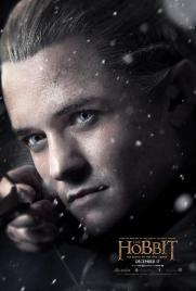 Hobbit Battle Five Armies Legolas poster