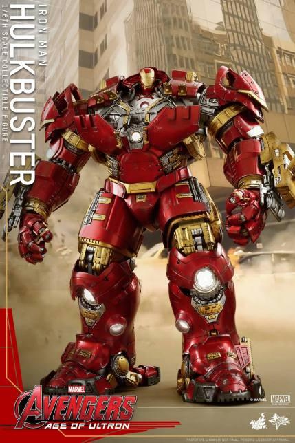 Hot Toys Avengers Hulkbuster 16