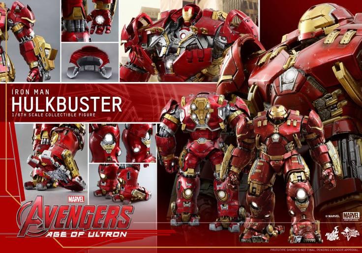 Hot Toys Avengers Hulkbuster 20