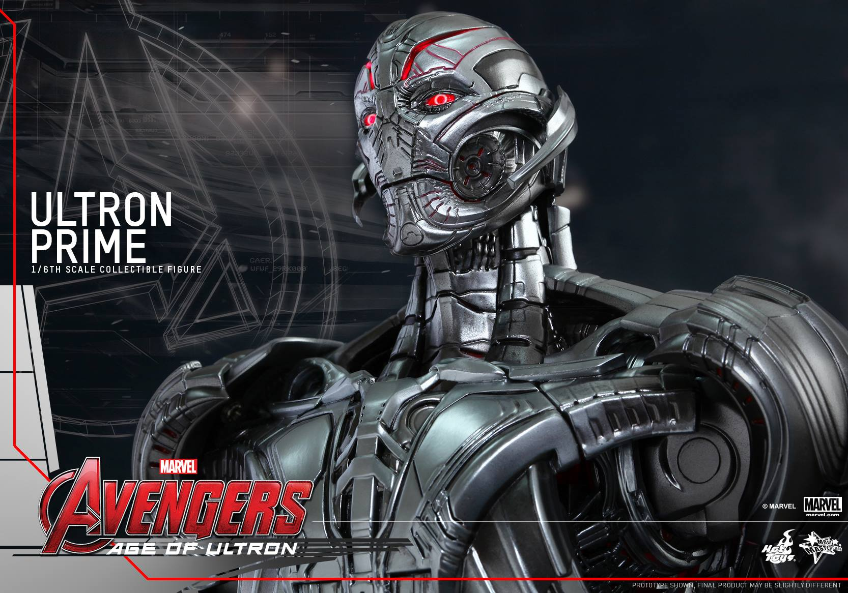 gallery hot toys ultron figure lets you inspect avengers age of