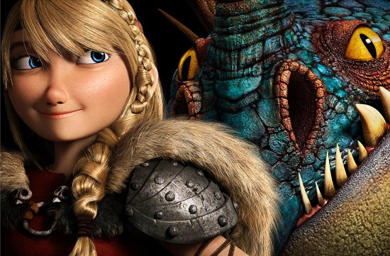 How to Train Your Dragon 2 - Astrid and Stormfly (header)