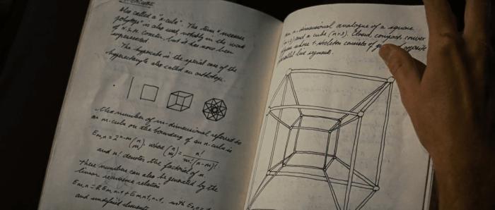 Cosmic cube in Howard Stark's notebook in iron man 2