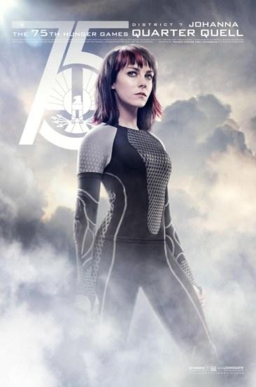 Hunger Games Catching Fire District 7 - Johanna