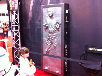 Comic-Con 2011: Han Solo in Carbonite life size