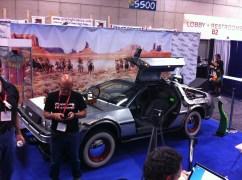 Comic-Con 2011: Back to the Future 3 car