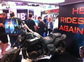 Comic-Con 2011: Ghost Rider Bike