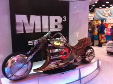 Comic-Con 2011: Men in Back 3 bike