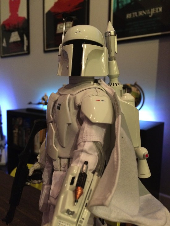 sideshow Collectibles' Star Wars Boba Fett Prototype Armor Sixth Scale Figure