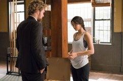 Iron Fist - Danny Rand (Finn Jones) and Colleen Wing (Jessica Henwick) in dojo