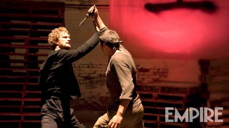 Iron Fist - Danny Rand (Finn Jones) knife fight