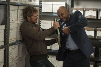 Iron Fist - Danny Rand (Finn Jones) office fight