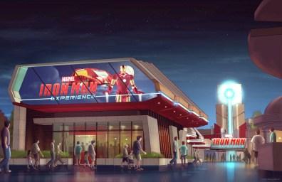 Iron Man Experience exterior