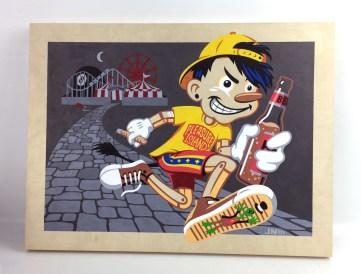 John Nissen - Pleasure Island - Pinocchio