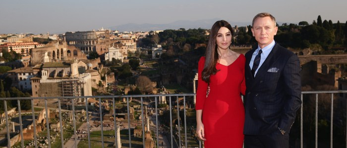 spectre rome filming