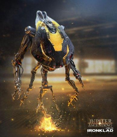 Jupiter Ascending Concept - robot3232