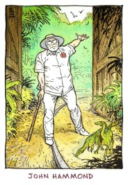 Jurassic Park animated series - John Hammond