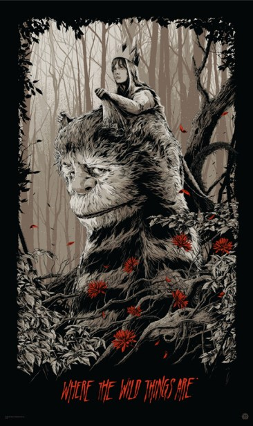 Ken Taylor - Where the Wild Things Are variant