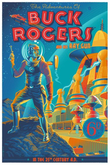 Laurent Durieux - Buck Rogers Regular