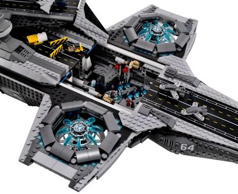Lego Avengers Helicarrier 7