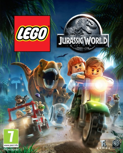 Lego Jurassic World game 1