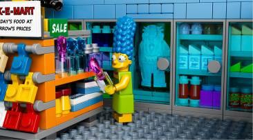 Lego Simpson Kwik E Mart 10