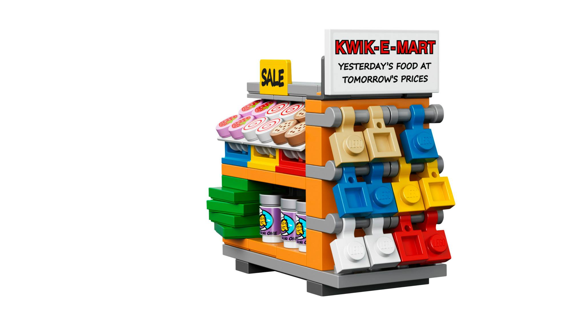 Cool Stuff: The Lego Simpsons Kwik E Mart Photos