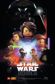 Lego Star Wars Episode 3 Poster