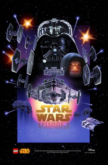 Lego Star Wars Episode 5 Poster