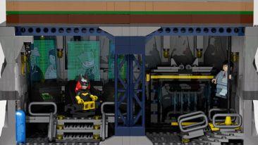 Lego Wayne Manor 2
