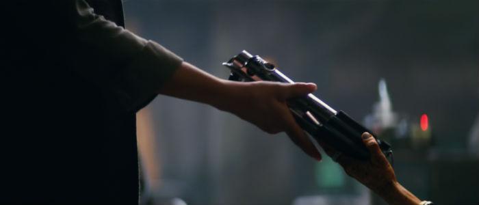 Leia Lightsaber star wars force awakens