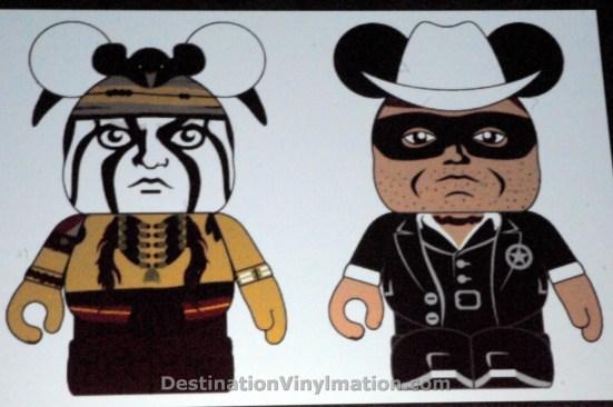 Lone Ranger Tonto - Vinylmation