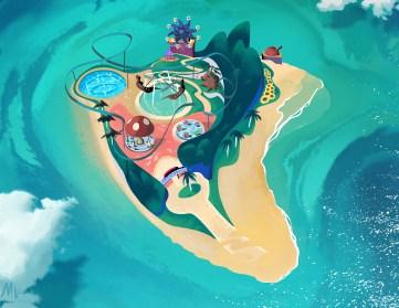 Matt Vince - Pinna Park - Super Mario Sunshine