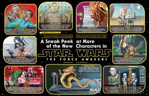 Mad Magazine Star Wars Force Awakens spoof