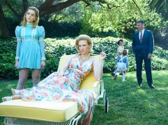 Mad Men Season 7 garden party - Francis family