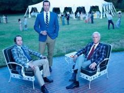 Mad Men Season 7 garden party - men