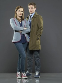 Marvel's Agents of SHIELD - Gemma Simmons and Leo Fitz