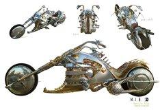 Men in Black 3 - Boris motorbike concept art