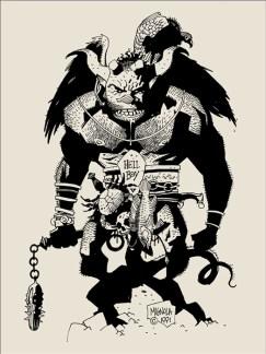 Mike Mignola - First Hellboy B