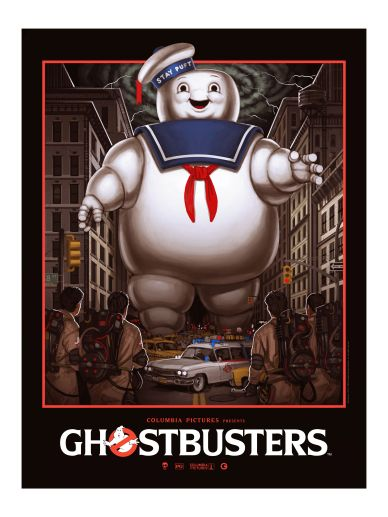 Mike Mitchell - Ghostbusters Giclee