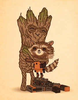 Mike Mitchell - Tree Hugger Guardians